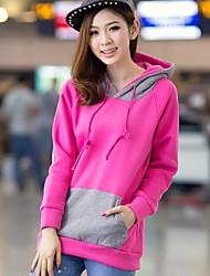 versione coreana delle donne della miscela del cappello nastro super-tesa di street style maglione lotta