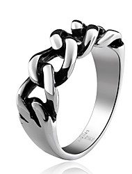 Chain Super Cool Personality Man Titanium Steel Ring Christmas Gifts