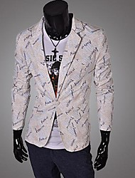 Men's New Fashion Slim Print Blazer
