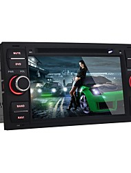 "android4.2.2 alegre 7 ""2 din carro dvd player para ford trânsito focus2005-2007 / ford com gps, bt, rds, wi-fi"
