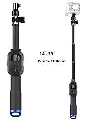 nouveau pôle à distance télescopique 39 pouces 4 sections monopode poche rétractable pour GoPro caméras héros 1/2/3/3 +