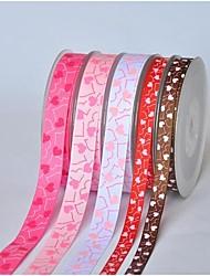 Fita-10 impressão em fita padrão empresa xinxin costela 3/8 polegadas quintal cada saco