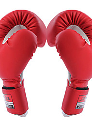 Boxing Gloves Full-finger Gloves Men's / Kid's Anti-skidding / Wearable / Shockproof Boxing Red / Blue