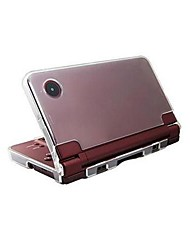 Hard Crystal Game Case Clear Cover Shell for Nintendo NDSiLL NDSiXL