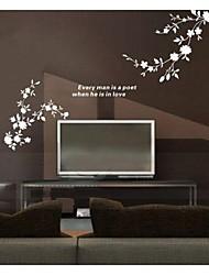 Paesaggio Astratto Fantasia Adesivi murali Adesivi aereo da parete Adesivi decorativi da parete Materiale Lavabile RimovibileDecorazioni