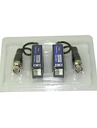 receptor de vídeo MHS canal ®single fio para câmera de CFTV canal único transceptor de vídeo passiva