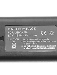 3.7V 1800mAh Lithium Mini DV Batttery for Leica M8