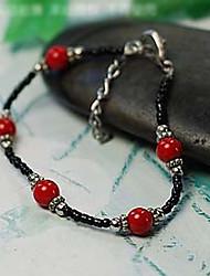 Suofeiya Coral Beads Bracelet_s15 Red