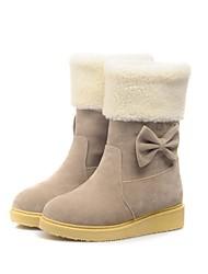 damesschoenen sneeuw lage hak halverwege de kuit laarzen meer kleuren beschikbaar