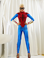 Unitards Women's Performance Polyester Blue / Red Performance Supeheroes & Villains