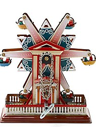 Tin Ferris Wheel Wind-Up Toys for Collection