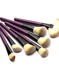 Professional 24 Pcs High Quality Synthetic Hair  Makeup Brush Set Cosmetic Make Up Tools with Leather Pouch