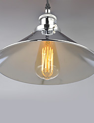 Max 60W Vintage Mini Style Metal Pendant Lights Living Room / Bedroom / Dining Room / Kitchen / Entry / Hallway