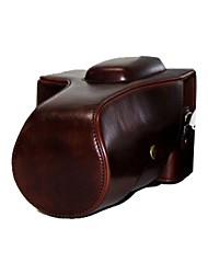 dengpin® câmera caso couro retro destacável protectora para Pentax K-5, o IIS K5, k-5 ii, k-30
