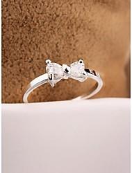 Fashion OL Bowknot Zircon for Women ,Men Jewelry Gift
