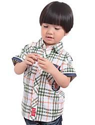 Boy's Polyester Shirt , Summer