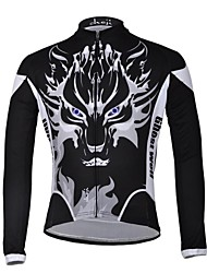 CHEJI Men's Cycling Tops / Jerseys Long Sleeve Bike Spring / Summer / Autumn / WinterThermal / Warm / Breathable / Ultraviolet Resistant