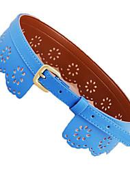 Women Wide Belt , Casual Leather