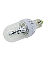 Ampoules Globe Blanc Naturel B E26/E27 3 W 9 LED Haute Puissance 300 LM 6000 K AC 100-240 V