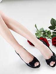 DABUWAWA Women's Bow Open-Toe Shoes