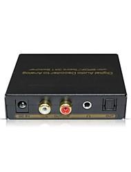 SPDIF/Toshlink Digital Audio Decoder Switcher 3x1 Support All Digital Format (AC3,PCM,DTS)