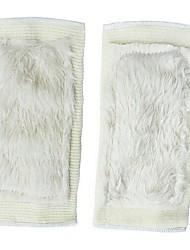 laine imitation confortable garder genouillère chaud