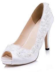 Women's Wedding Shoes Heels Heels Wedding/Party & Evening Ivory/White