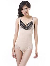sexy moda cores puras respiráveis das mulheres melhorar conjunta corsets de modelagem abdômen
