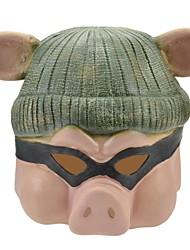 Syvio hochwertigem Latex niedliche Schweinchen Kopf halloween Slip-on Maske