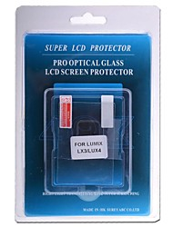 protezione dello schermo lcd professionale vetro ottico speciale per Lumix LX3 / LUX4 fotocamera dslr