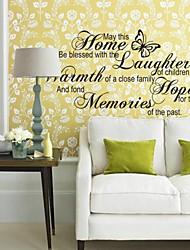 adesivos de parede adesivos de parede, Inglês provérbio parede pvc adesivos