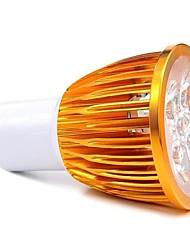 GU10 Spot LED MR16 5 LED Haute Puissance 450 lm Blanc Chaud AC 85-265 V