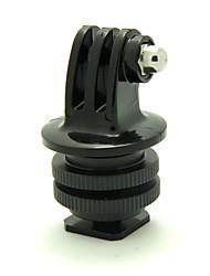 adaptador de conexión zapata con trípode adaptador para Hero GoPro 2 / hero3 / 3+