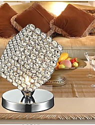 mesa de cristal cuadrada de escritorio de cristal K9 lámpara lámparas salón oficina mini luces de mesa