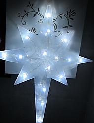 LED String Light 1 Light Modern Eight Pointed Star Shape White Plastic 220V