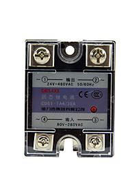 Einphasen-ssr Solid State Relais AC-AC 30a kontakt Relais delixi Elektro cdg1-1aa30a