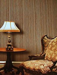 papel de parede wallcovering, estilo moderno 3d palha grão papel de parede do pvc