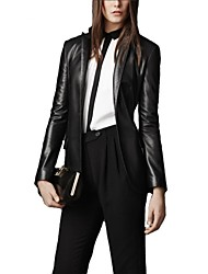 Skymoto® Women's Casual Short PU Leather Jacket