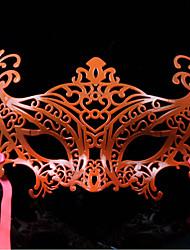 halloween máscara elegante festa a fantasia misteriosa oco (cores sortidas)