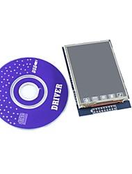 """2.8 """"TFT LCD módulo de pantalla escudo contacto con cd para Arduino"""
