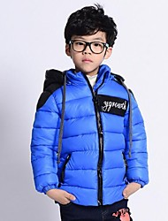 Boy's Down & Cotton Padded,Winter / Fall Solid