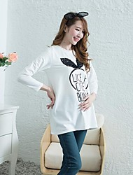 Maternity's Fashion Leisure Lovely Nifty Cartoon Maternity Coat