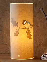 Stehleuchte 1 Lichtvogelmuster Pergamentschirm 220v