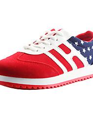 sneakers sapatos da moda conforto rodada toe salto baixo sapatos femininos mais cores disponíveis