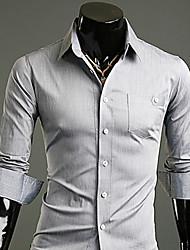 Meikepam Men's All Match Long Sleeve Shirt