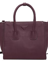 Women Cowhide Formal Shoulder Bag