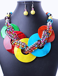 SMY European 2 pieces set earrings and Necklace _99