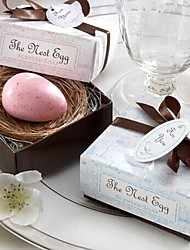 Holiday Gifts Mini Egg Shape Soap (Random Color)