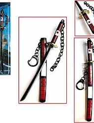 One Piece Roronoa Zoro 17cm Key Chain Cosplay Accessories