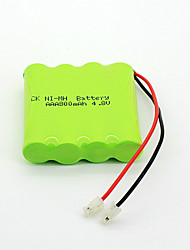 800mah 4.8v AAA Ni-mh ensemble de batterie rechargeable (4-pack)